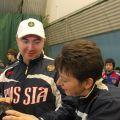 Московская зима - рабочие моменты соревнований 6